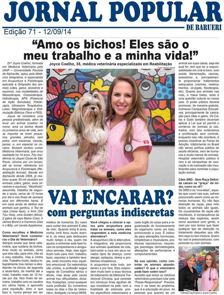 Jornal Popular de Barueri - Edição 71 - 12/09/2014